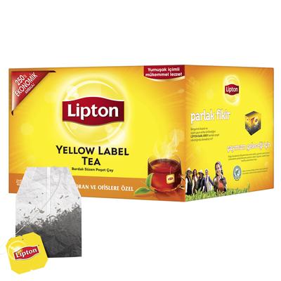 Lipton Yellow Label Bardak Poşet Çay 250li