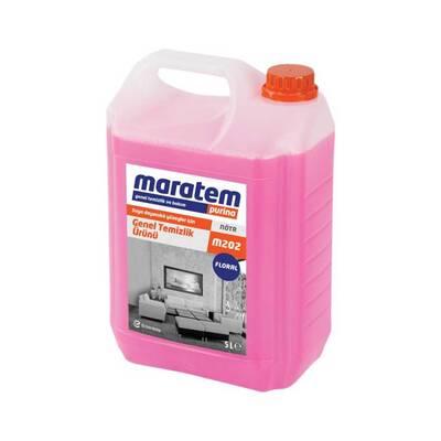 Maratem M202 Genel Temizlik Ürünü Çiçek 5lt