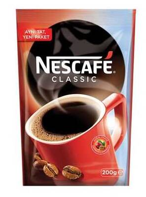 Nescafe Classic Eko Paket 200 gr