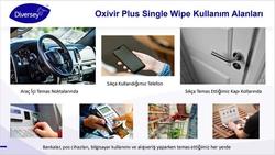 Oxivir Excel Wipe Dezenfektan Mendil 100lü - 70024308 - Thumbnail